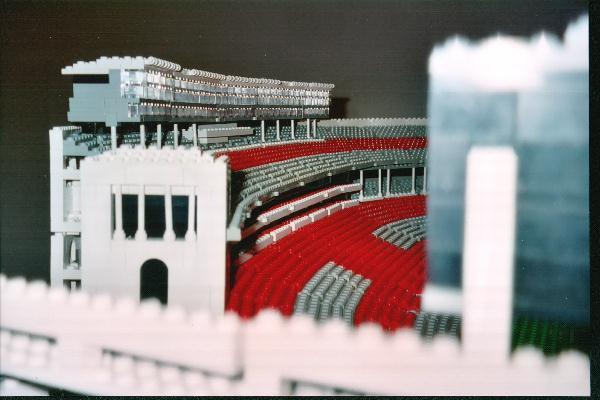 Ohio Stadium Legos