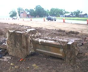 Heritage News : Possible Camp Sherman Gatepost Unearthed